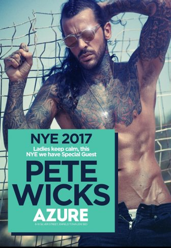 NYE WITH PETE WICKS