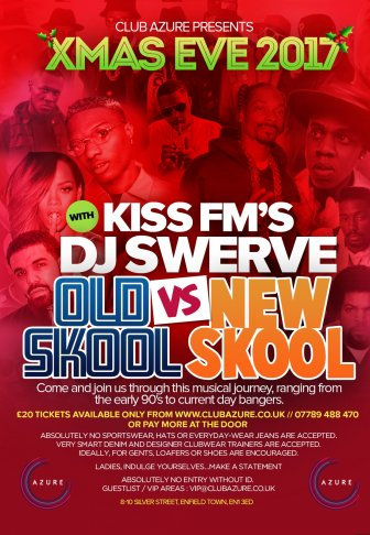 Xmas Eve Kiss Fm Old Skool Vs New Skool
