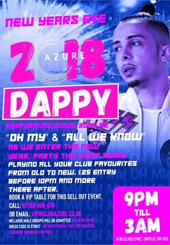 New Year's Eve With Dappy